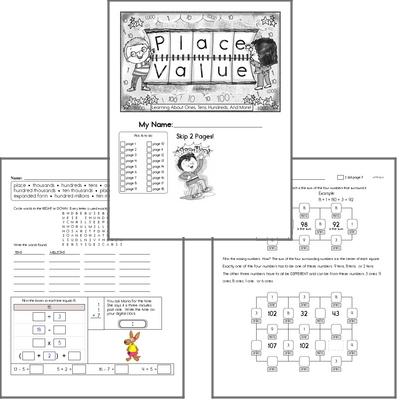 Free Place Value Worksheets - Not Boring edHelper