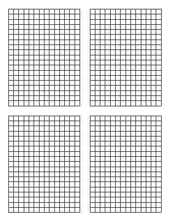 Free Standard Printable (85 by 11) Graph Paper - standard graphing paper