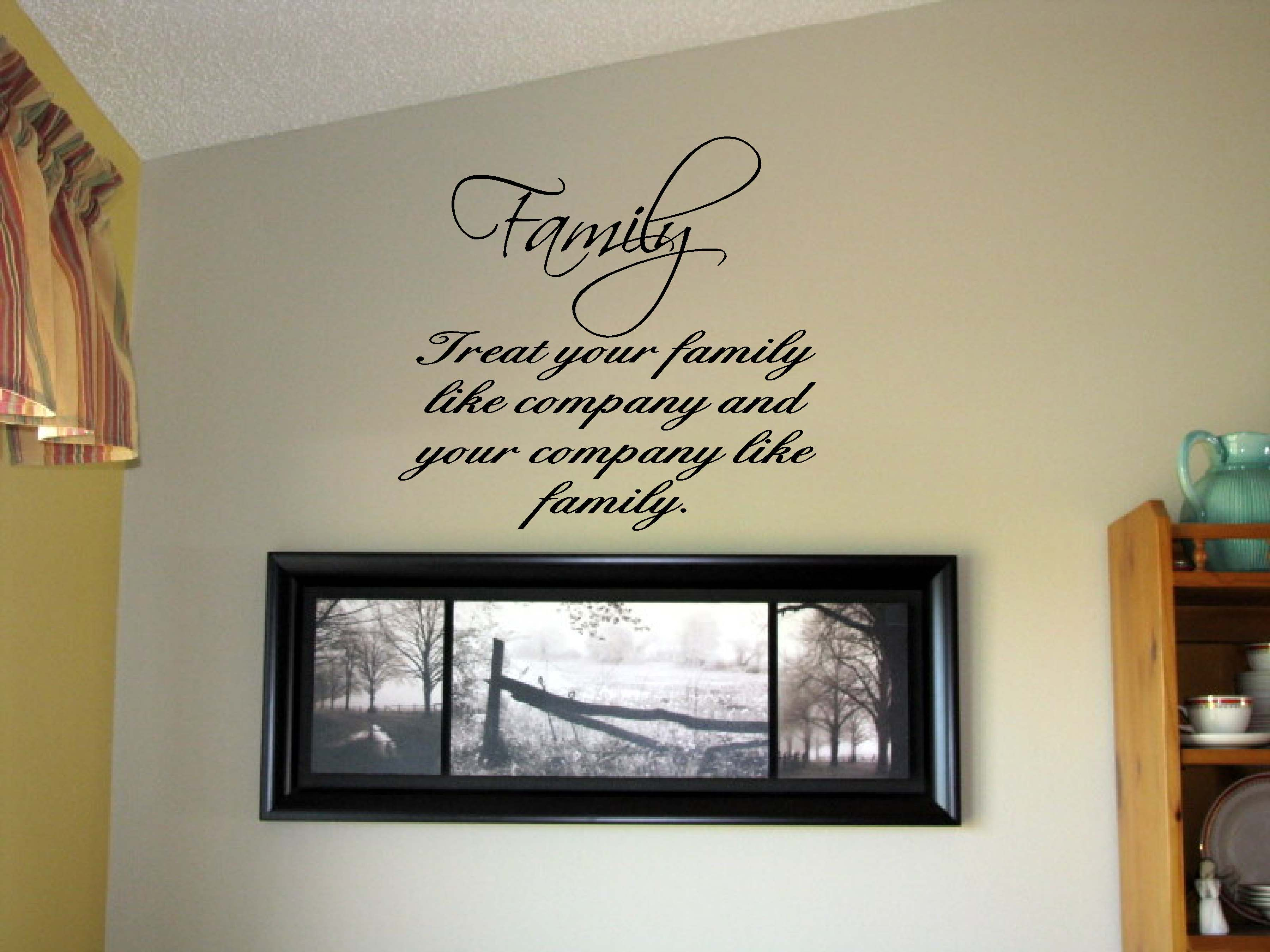 Sisters Different Flowers Vinyl Wall Art Words Decals