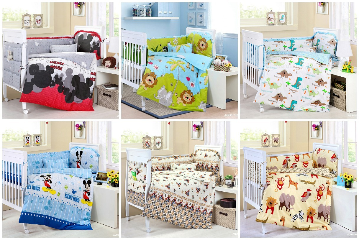 Baby Cot Sets Australia Cartoon Cotton Quilt Baby Cot Set Nursery Bed Sets 9 Pieces Pillow