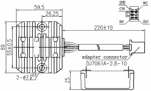 atv regulator rectifier wiring diagram