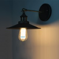 Vintage Industrial Primitive Glass Ceiling Lamp Household ...