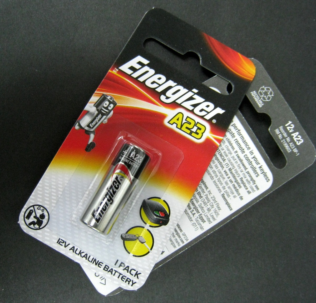 2 Or 12 Pcs Energizer A23 23a 12v Alkaline Battery Car