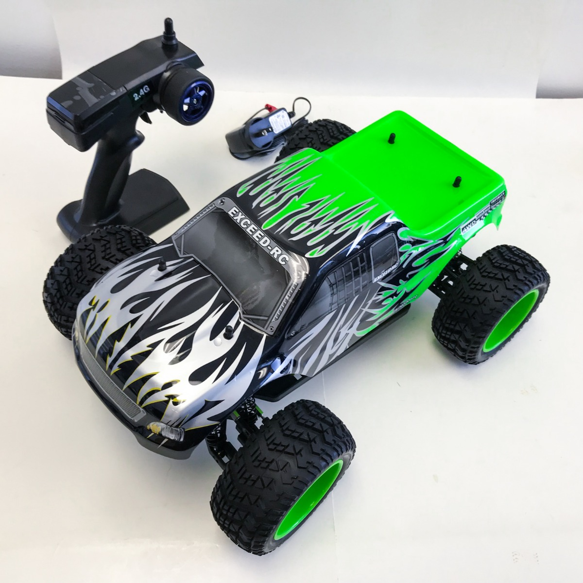 Rtr Rc Trucks Electric Details About New Exceed Rc Brushless Pro 2 4g Electric Rtr Off Road Rc Truck Sava Green