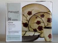 PFALTZGRAFF STUDIO ASTER 16-PIECE DINNERWARE SET (FLORAL ...