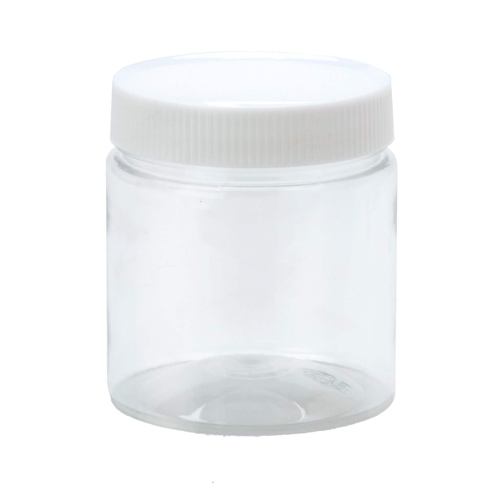 Lid And Jar Clear Plastic Jar With Lid