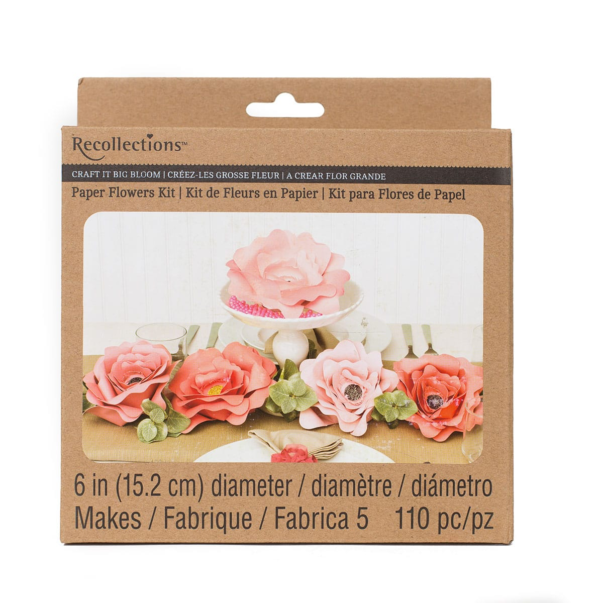 recollections paper flower kit