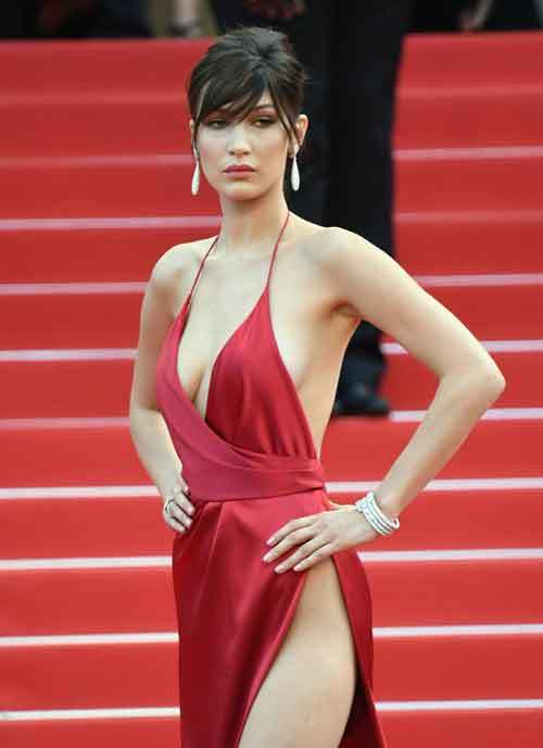 Cannes , Bella Hadid , Cannes 2016