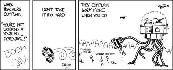 """Potential"" - From Xkcd.com"