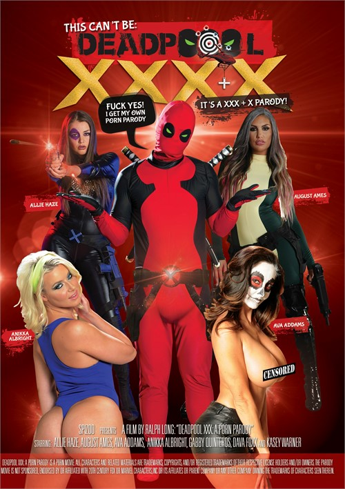 XXX + X Parody – This Cant Be Deadpool XXXX