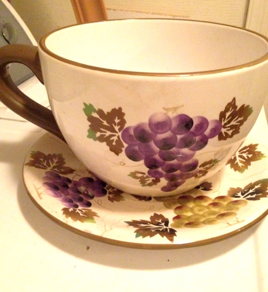 Large Tea Cup Planter Giant Teacup And Saucer Planter Year Of Clean Water