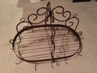 letgo - Wrought Iron Pot Rack in Dacula, GA