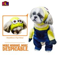 Despicable Me Minion Dog Costume By PetLovers Closet