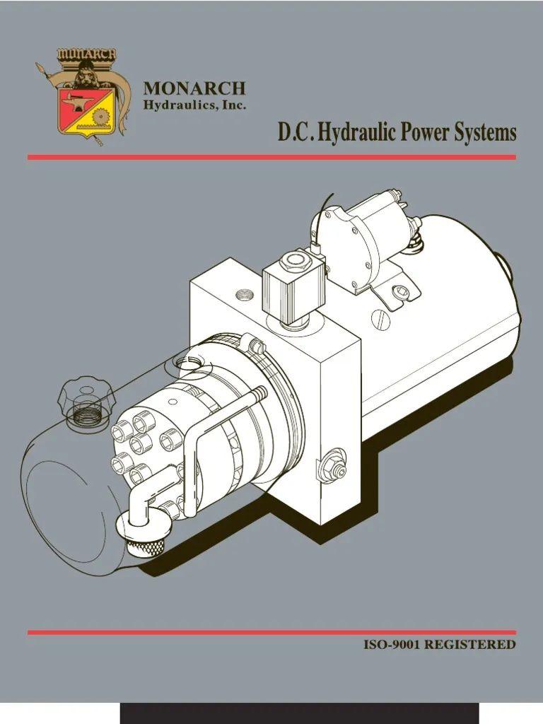 monarch hyd pump wiring diagram