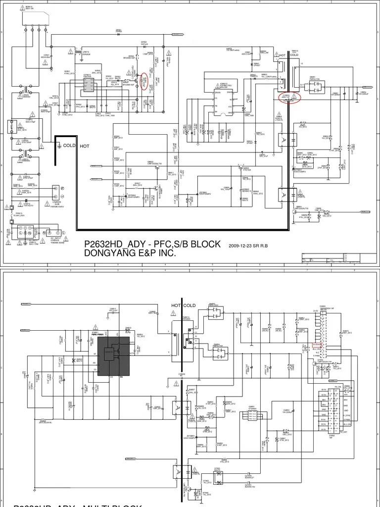 sony flyback diagram