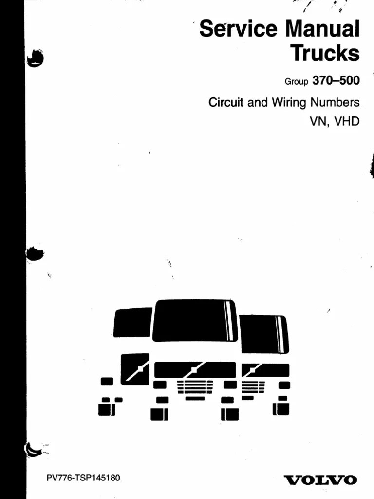 wiring diagram motor volvo d13a