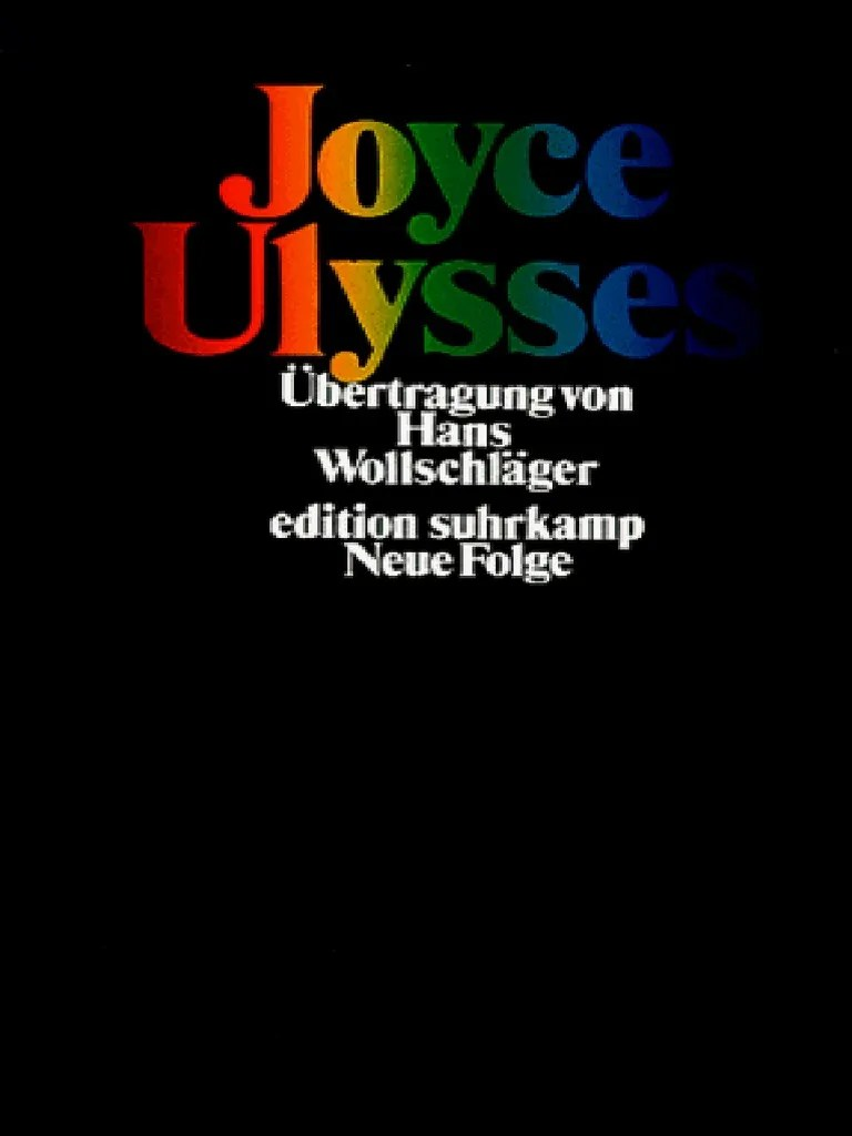 Wildes Wohnzimmer Otter Murphy James Joyce Ulysses Ulysses Novel