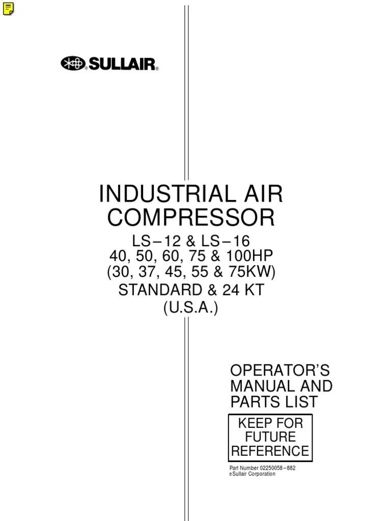 vanair wiring diagram