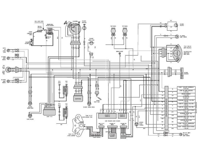 bajaj wiring diagram
