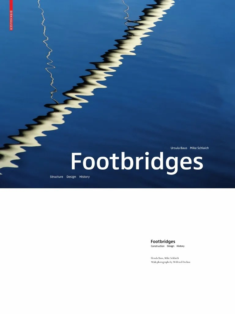 Gfk Pool Duisburg Footbridges Structure Design History Architecture Ebook