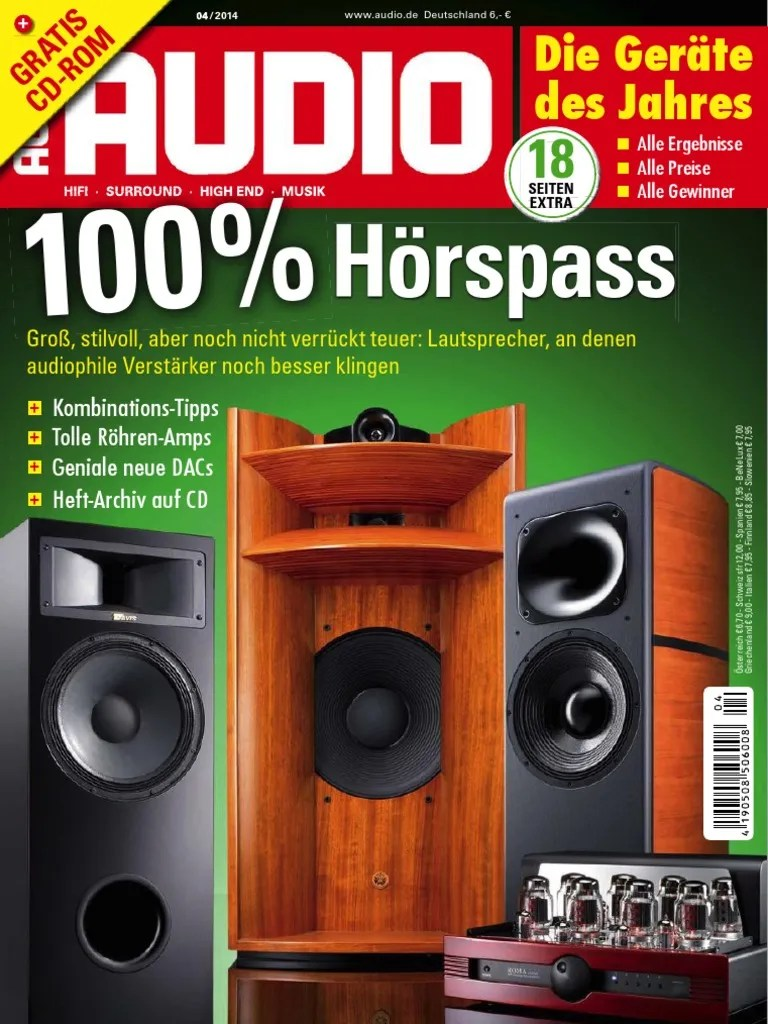 Hifi Im Hinterhof Offenbach Audio Hifi Surround Musik Magazin April No 04 2015