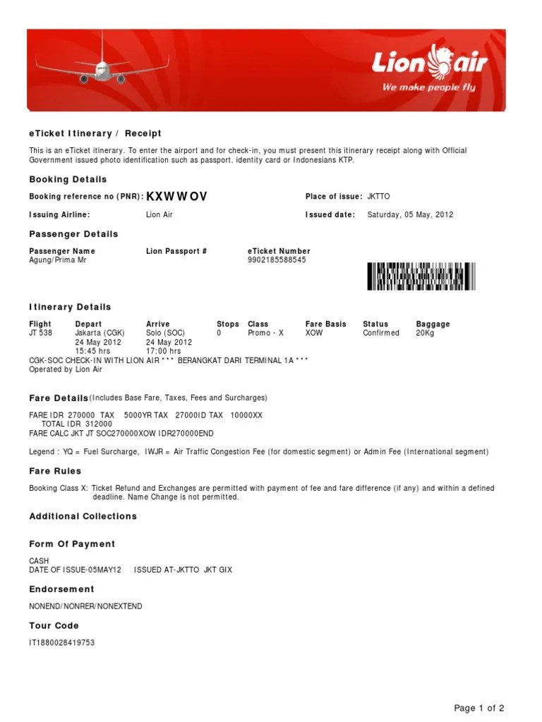 Lion Air Promo Ticket Lion Air Indo Ticket Admission 18 Views