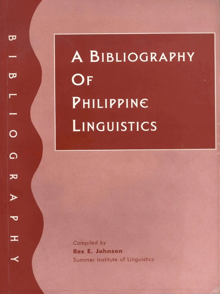 Arte Meaning In Tagalog A Bibliography Of Philippine Linguistics 1996 Tagalog Language