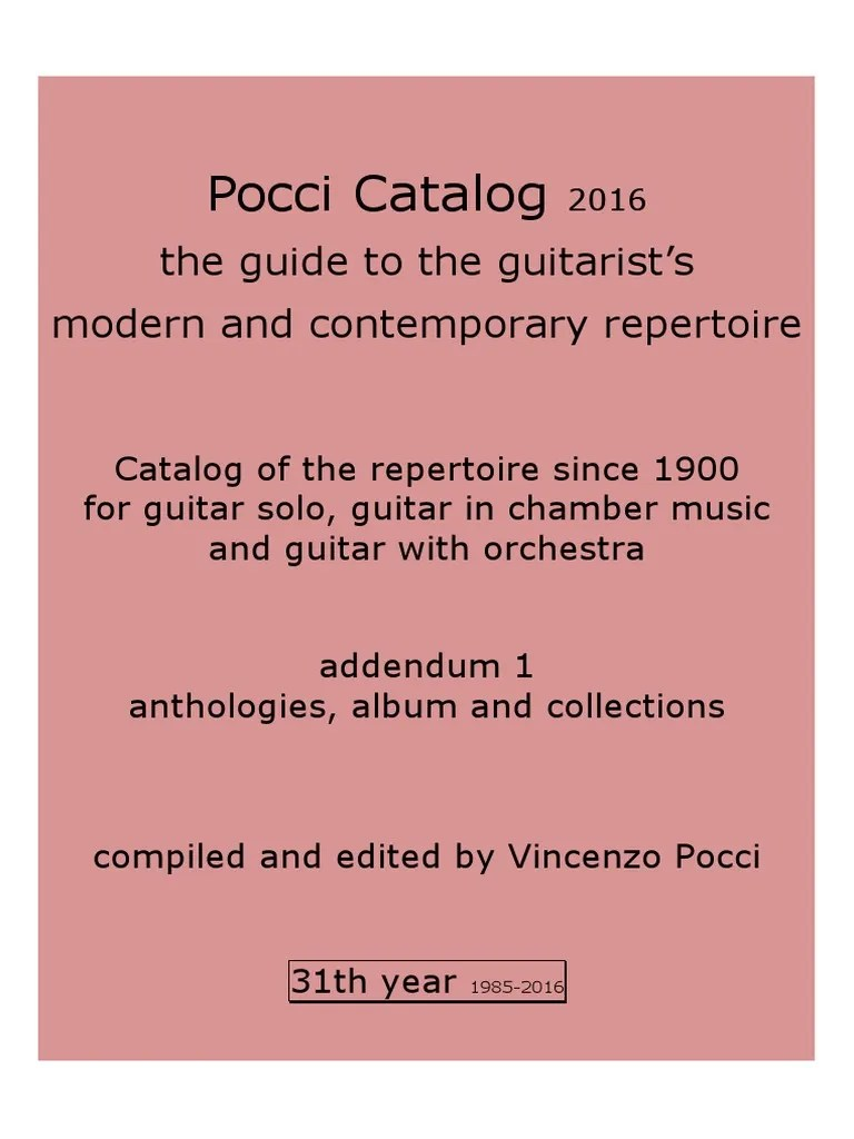 Hark Kamin Harburg Pocci Catalog 31th Year 2016 Anthologies