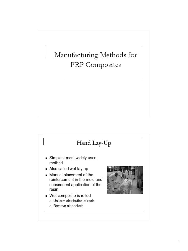 Manufacturing Methods Frp Manufacturing Methods Composite Material Fiberglass