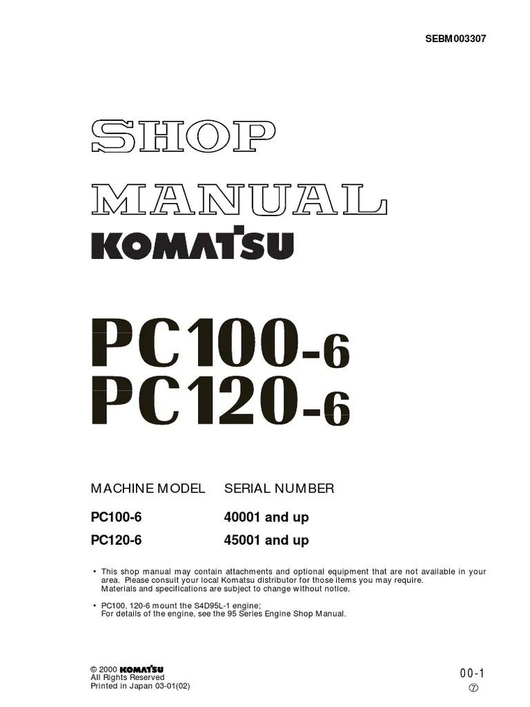 Jb Lighting P6 Bedienungsanleitung Manual De Servicio Komatsu Pc 100 Y Pc120 Troubleshooting