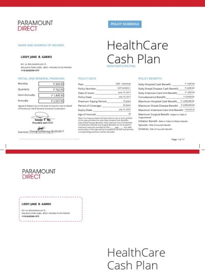 HealthCare Cash Plan Policy | Insurance | Hospital