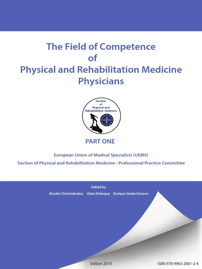 Roos Pool Pflege Section Of Physical And Rehabilitation Medicine 282 29 Physical