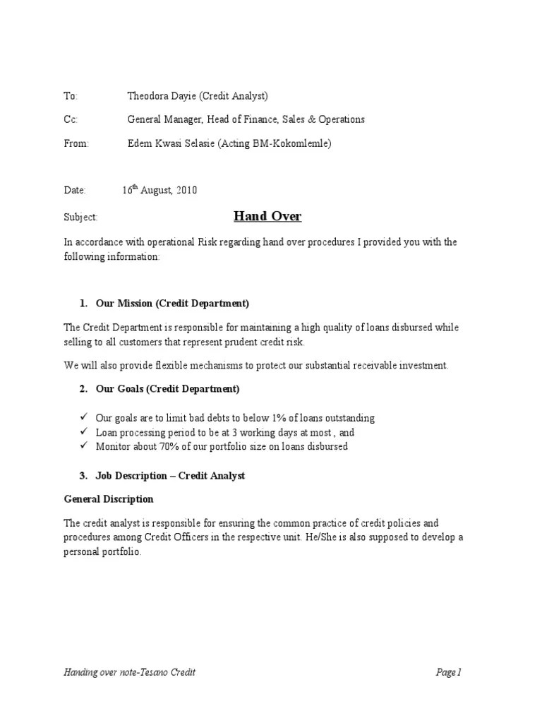 goods received note format – Goods Collection Note Template