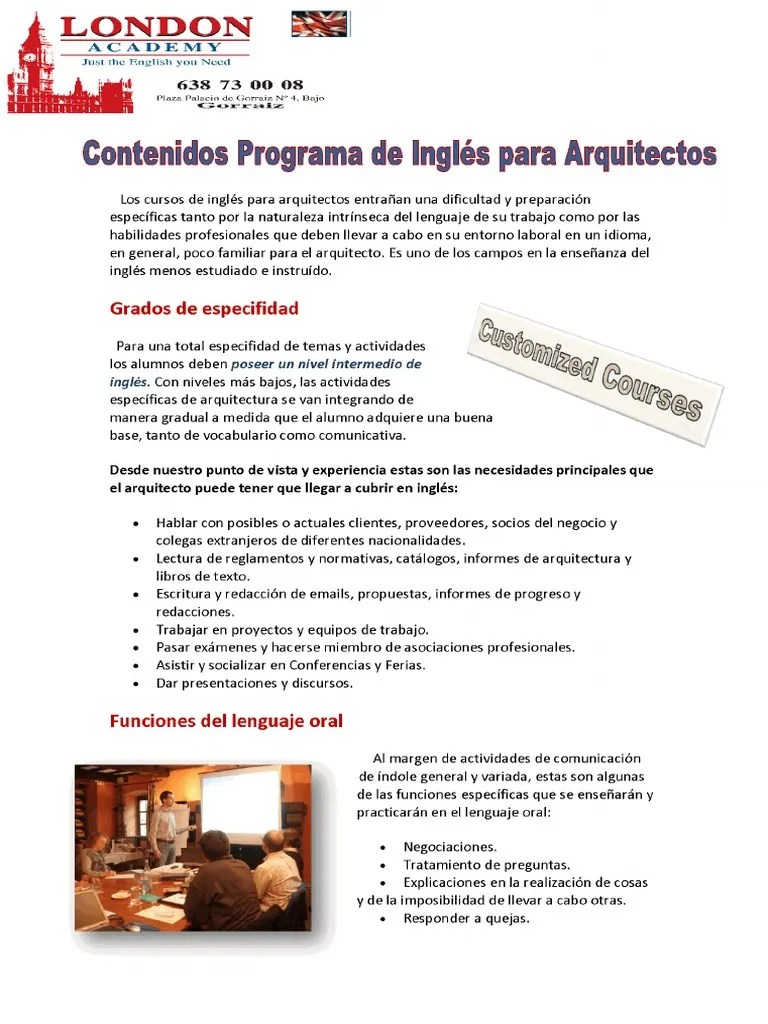 Libros Lectura Ingles Pdf 283001144 How To Teach English For Architects Pdf Pdf