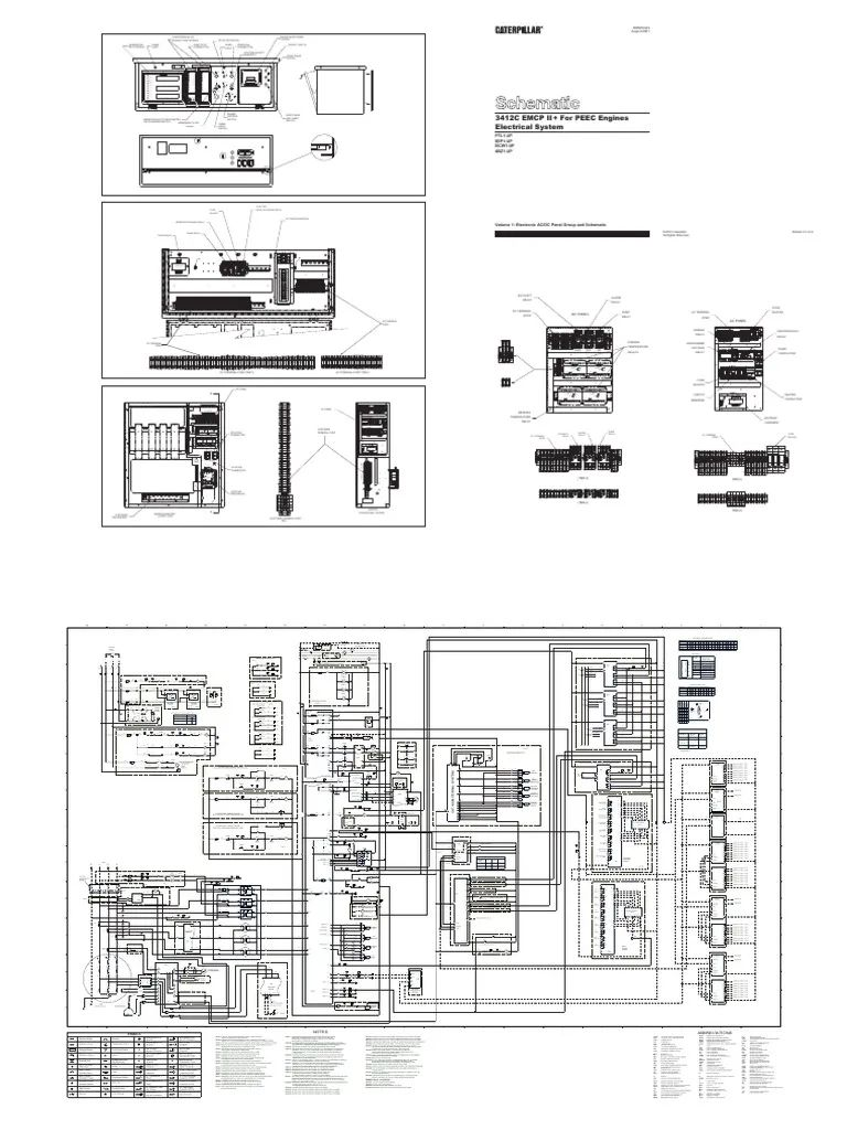 caterpillar 3512 wiring diagram