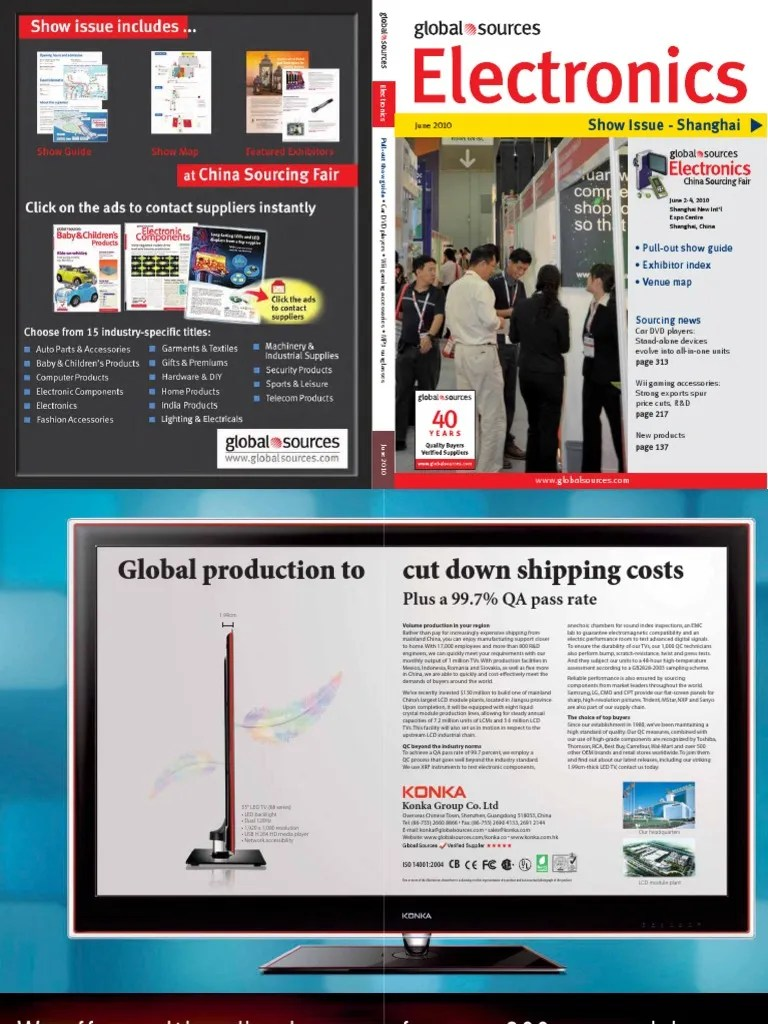 Samsung Ks 9090 Global Sources - 2010 June - Electronics | I Pod | Personal Computers