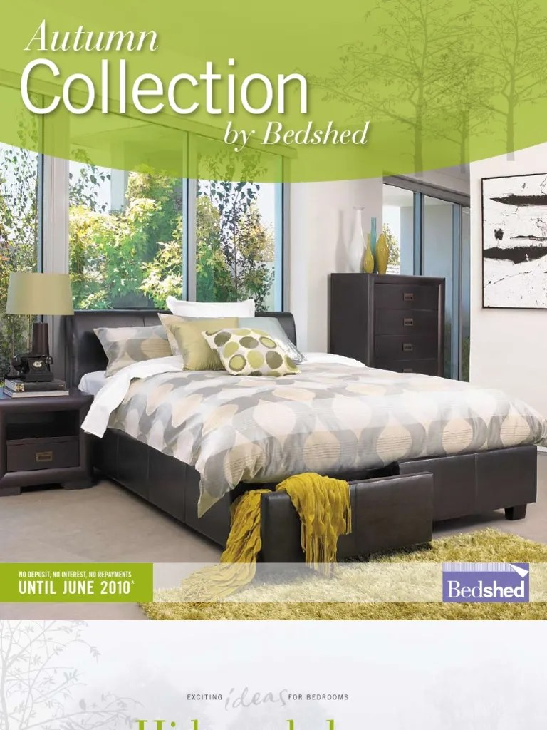 Bedshed Melbourne Autumn Catalogue Qld Metro 18 03 09 Mattress Bed