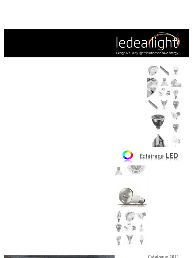 Projecteur Led Extérieur 50w High Power Eclairage Blanc 24vdc Catalogue Ledea Light 2011 V15 2