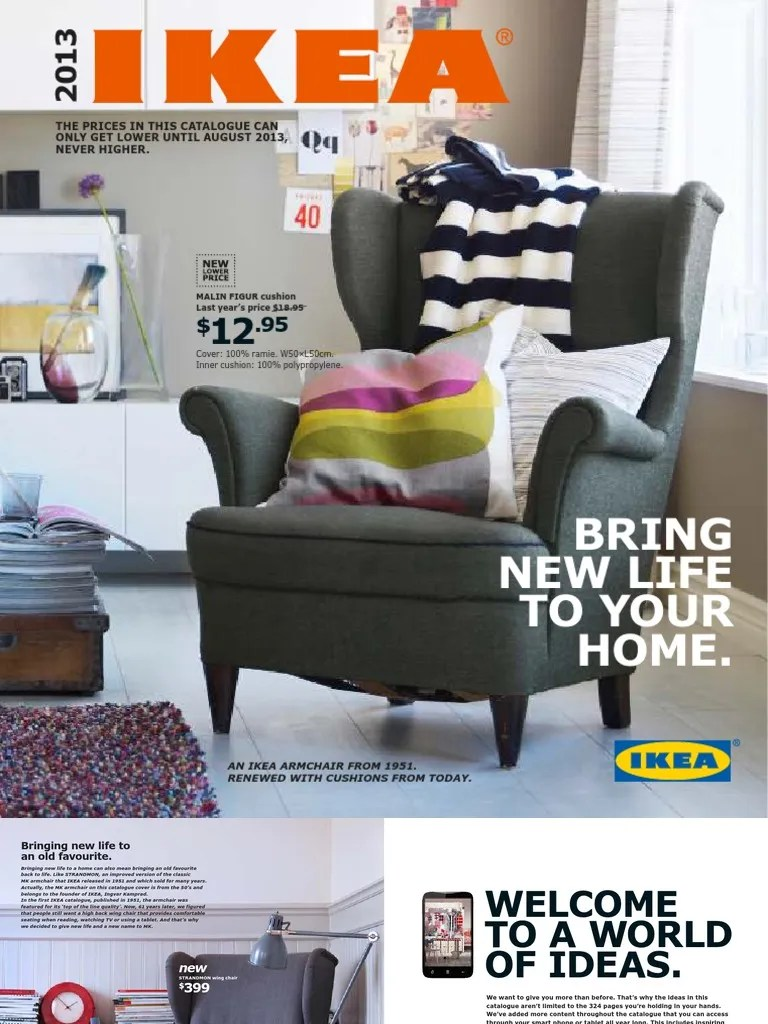 Kivik Sofa Pdf Ikea Catalogue En Bedding Bed