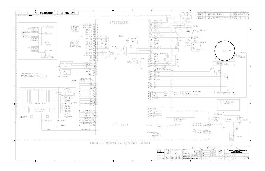 cummins pcc2100 wiring diagram