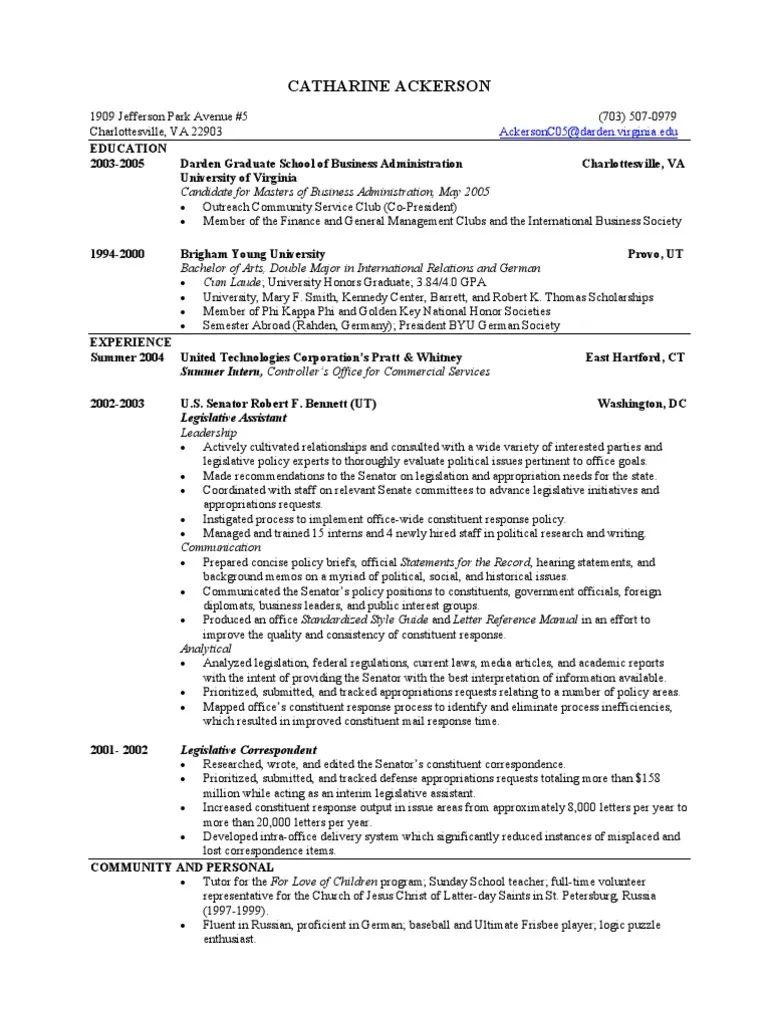 sample fraternity resume