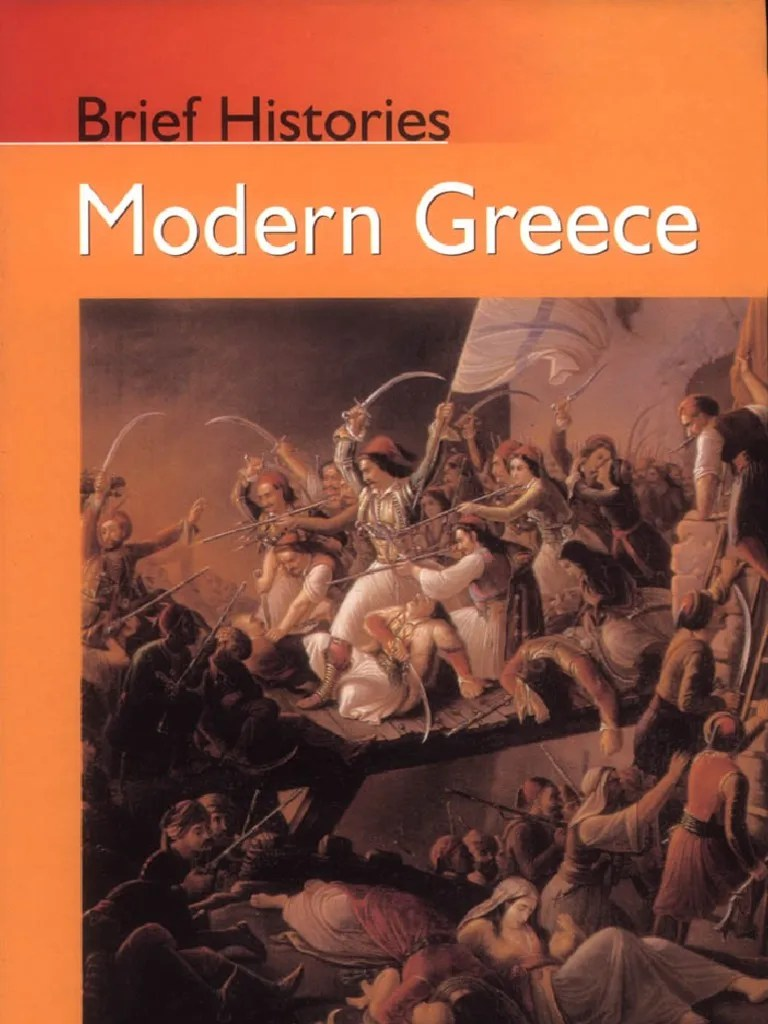 Taksis Boom Modern Greece A Brief History By Thomas W Gallant Greece