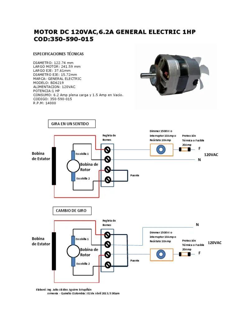 1 2 hp electric motor diagrama de cableado