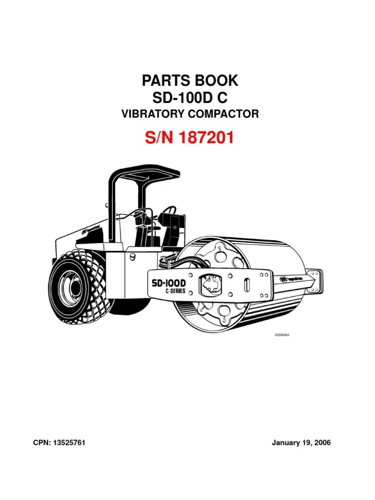 ingersoll rand sd100 wiring diagram