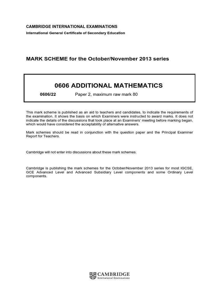 2014 maths mark scheme jan c3