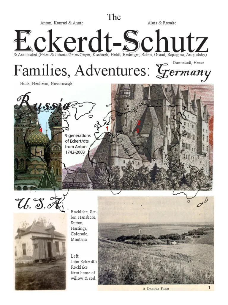 The Eckerdt - Schutz and Associated Families and Adventures by Ron Knappen | Robbery | Russia