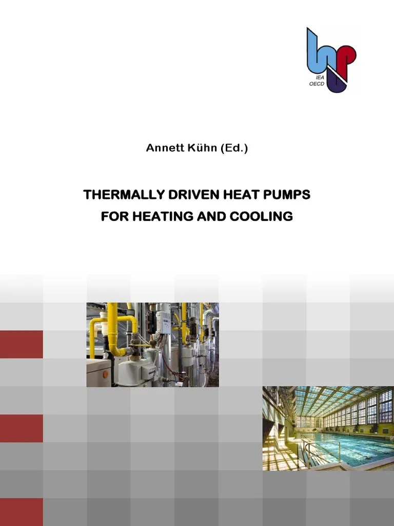 Pool Wärmepumpe Prime 8 Thermally Driven Heat Pumps For Heating And Cooling Annett Kühn