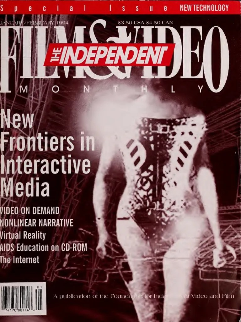 The Independent Film Video Monthly 1994 1