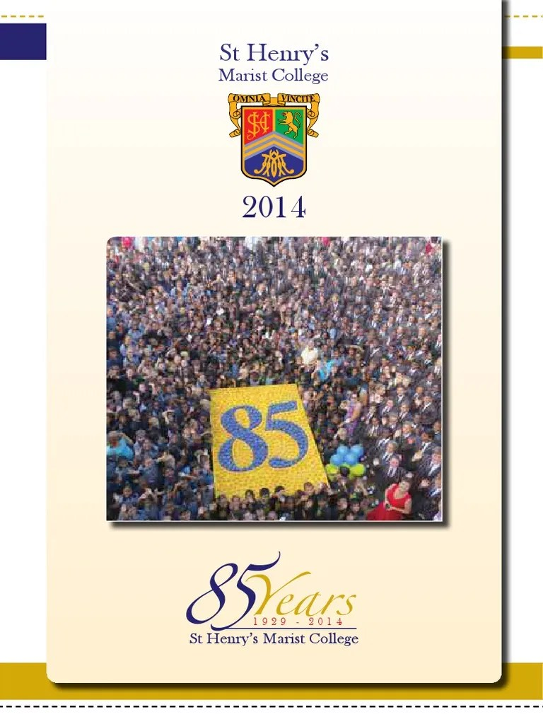 Keukenplint Praxis St Henry S Yearbook 2014 Catholic Church Schools