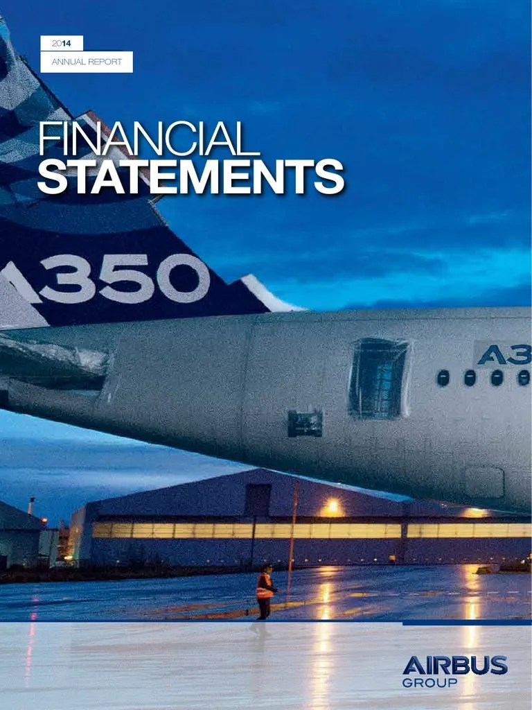 Cash Pool Organschaft Airbus Group 2014 Fs Ev International Financial Reporting